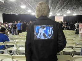 Vinyl Scratch Attack - Jacket @ BronyCon by SDC2012