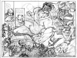 Gemini 3 spread :: The PENCILS by Red-J