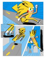 Sonichu #0, Page 12 by CometColt