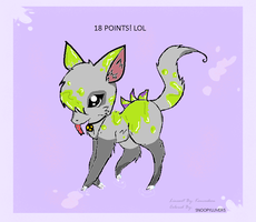 CUTE TOXIC FOX ADOPTABLE OPEN+PRICE REDUCED by snoopyluver5