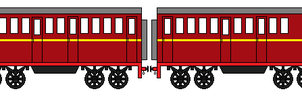 GWR Coaches by Robbie18