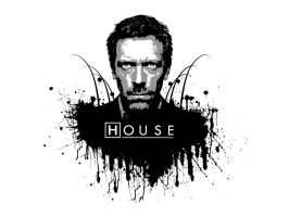 House MD - black and white by HouseMDClub