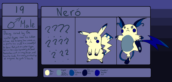Nero the water Moonchu by 13-Shooting-Stars