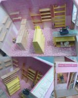 Barbie doll General Store by seawaterwitch