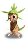 Chespin by Cattensu
