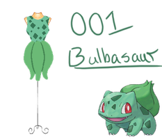 Pokedresses - 001 - Bulbasaur by AK-Manga