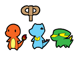 Rumble-esque Pokemon by BuizelKnight