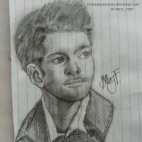 Misha Collins by fictionaloutcomes