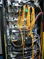 Server Room Wires by dull-stock