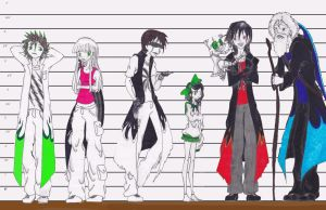 Height Measurements for the Oogakaris (and Candy) by Alice-with-a-Bowtie