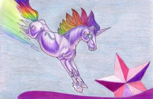 Robot Unicorn Attack by andpie