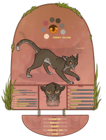 TDE | Windstar :  Windclan Leader by SaintPumpkinMuffin