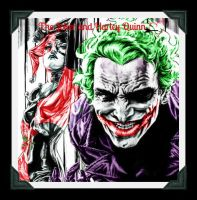 The Joker and Harley by jokercrazy