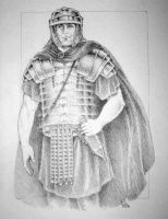 Roman Legionary by lynx-the-ranger