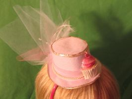 SOLD Cupcake Mini Hat by Ringo-Chu