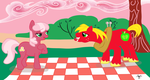 My Special Somepony Cheerilee and Big Mac by aprilj0313