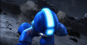Mega Dude in Super Smash Bros (Animated) by Warheart156