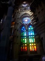 Stained Glass Window by LadySilvie