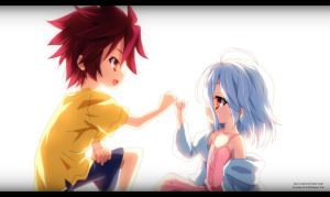 No Game No Life: Sora and Shiro by AR-UA