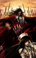 Hellsing ~ Three for the Price of One by jch15jch15