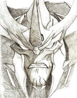 Predaking Sketch by BlueFire795