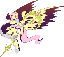 Valkyrie Fluttershy by Multiponi