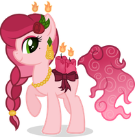 Scented Pony OC: Lovestruck by MyPaintedMelody