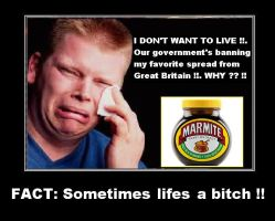 Canadian cries for his Marmite by DoctorWhoOne