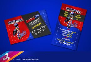 Universal Cuts Business Card by AnotherBcreation