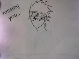 kakashi!!!!!!!!! rocks by justmeanime