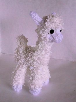 Loom Knitted Alpaca by ScarlettRoyale