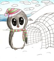 Igloo Penguin by pickleduck3