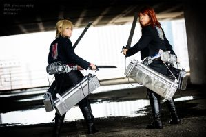 Attack On Titan: [Project Chrome Decay] 3 by vampire-mage