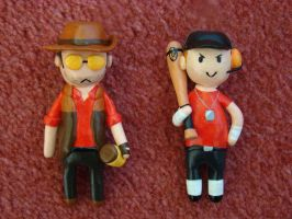 Sniper and Scout Minis by Ninisu