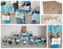 Love is Sweet Candy Buffet by ScrawnySquall