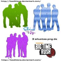 Siluetas de BTR png by LizEditions
