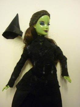 Elphaba- partly finished by Bubble-Masquerade16