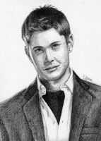 Jensen Ackles -Dean Winchester by doma22