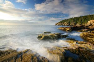 Acadia's Rocky Shore by tfavretto