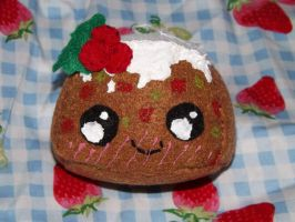 Fruit Cake Ornament by Mishaila
