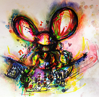 Mau5 in the hau5 by SuperRibbonGirl