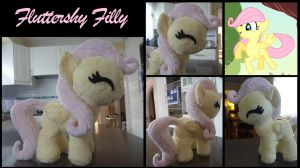 MLP: Fluttershy Filly Plush by ChibiTigre