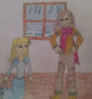 Request 2: Gerda and Katrine From the Snow Queen by Sparrow12592
