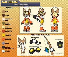 2013 Ref: Saffron the Ringtail by Safyran