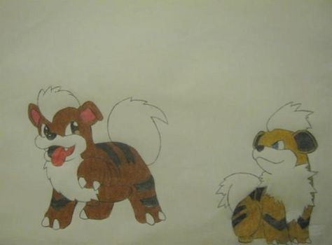 Growlithe by kimmyscifo