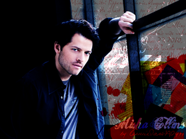 Misha Collins by MrsNovak