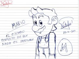 Mario is the example by Dino-drawer
