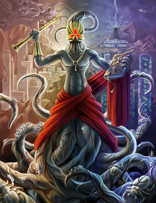 Gospel of Nyralathotep by Ito-Saith-Webb