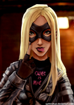 Black Canary by Splitin2kun