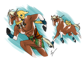 Aboriginal: Horse Clan by Evelynism